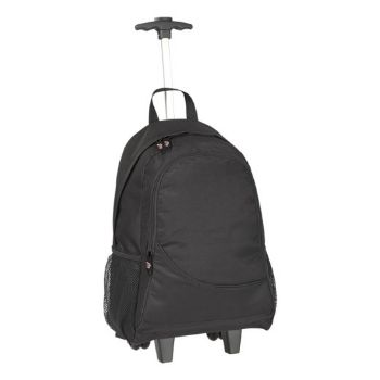 Personalised Verona Laptop Trolley Backpack - Black